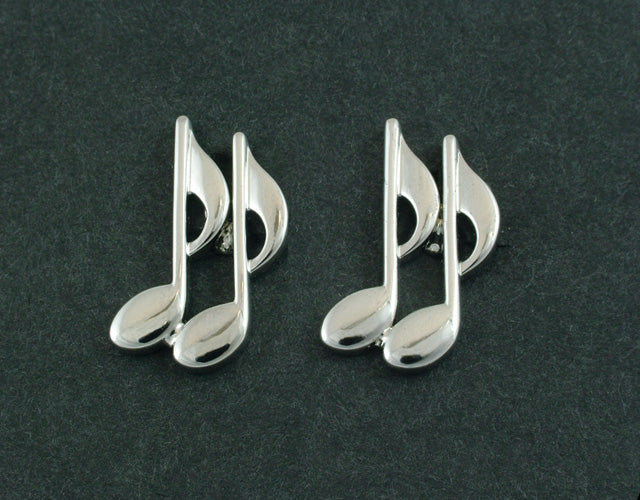 Musical Notes Cufflinks In Box (Psn244)Musical Notes Cufflinks In Box (Psn244)