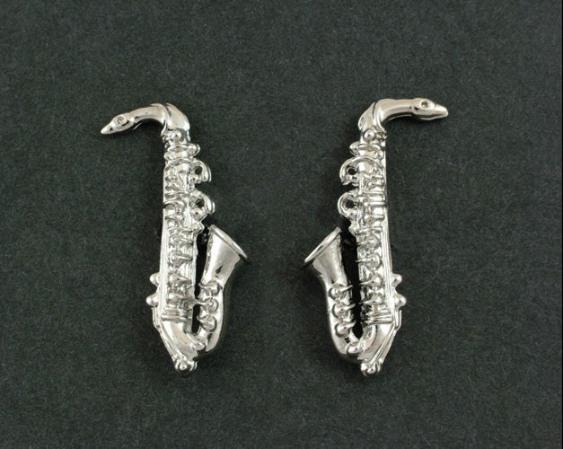 Saxophone Cufflinks In Box (Psn3)Saxophone Cufflinks In Box (Psn3)
