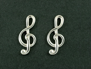 Treble Clef Cufflinks In Box (Psn178)Treble Clef Cufflinks In Box (Psn178)