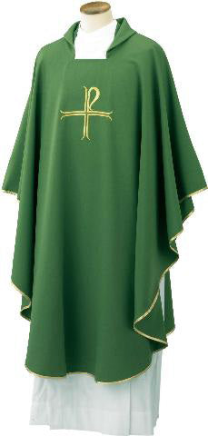 Chasuble With Cross Design