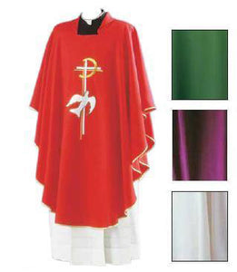 Chasuble - Dove & Cross DesignChasuble - Dove & Cross Design