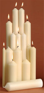 3/4in Altar Candles from Kevin Mayhew