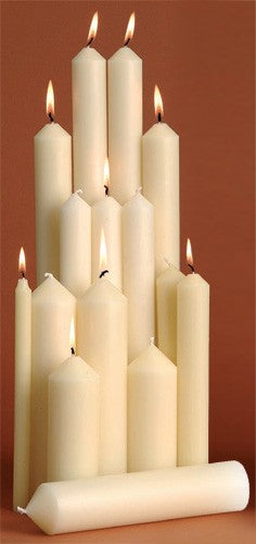 1 1/4in Altar Candles from Kevin Mayhew