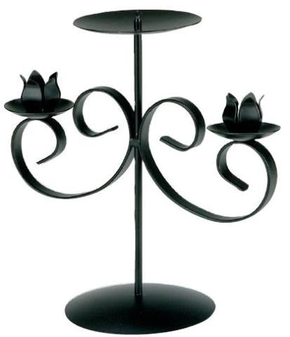 Double Sconce Wedding Candelabra