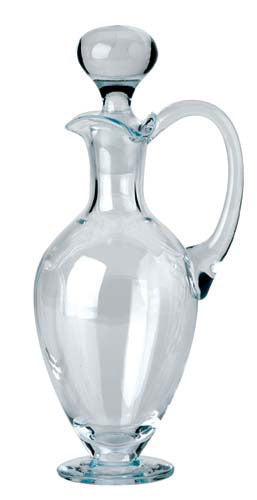 Crystal Cruet - 1Pt  With Glass StopperCrystal Cruet - 1Pt  With Glass Stopper