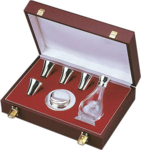 6 Piece Communion Set Sterling Silver With Case6 Piece Communion Set Sterling Silver With Case