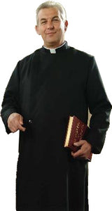 Men's Single Breasted Cassock