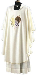 Wheat And Grapes Chasuble