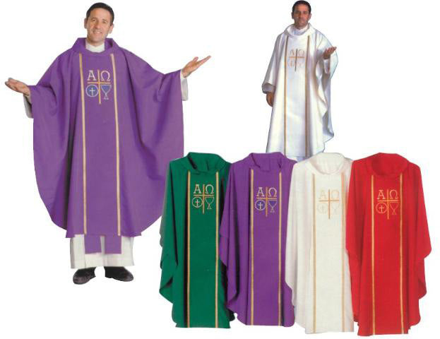 Alpha Chasuble