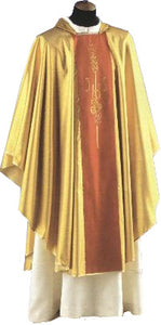 Chasuble - IHS Wheat & Grapes