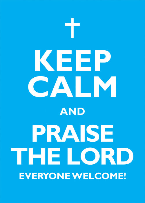 Clipboard Poster - Keep Calm & Praise The LordClipboard Poster - Keep Calm & Praise The Lord