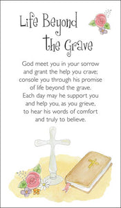 Prayer Card - Life Beyond The GravePrayer Card - Life Beyond The Grave
