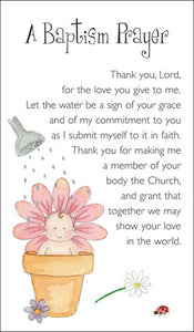 Prayer Card - A Baptism PrayerPrayer Card - A Baptism Prayer