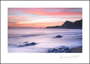Worbarrow Bay - Sunset ****Worbarrow Bay - Sunset ****