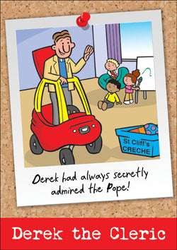 Derek The Cleric - PopeDerek The Cleric - Pope