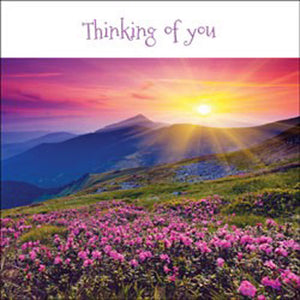 Thinking Of You - Square Card GlossThinking Of You - Square Card Gloss