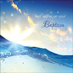 Best Wishes On Your Baptism (A)   Best Wishes On Your Baptism (A)