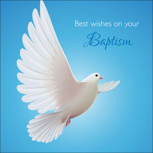 Best Wishes On Your Baptism (A)Best Wishes On Your Baptism (A)