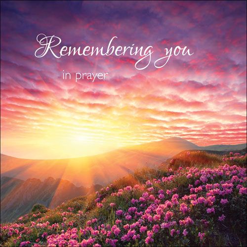 Remembering You In PrayerRemembering You In Prayer