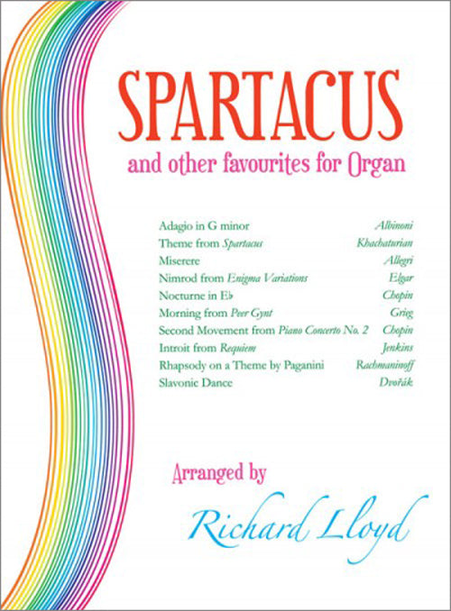 Spartacus And Other Favourites For OrganSpartacus And Other Favourites For Organ
