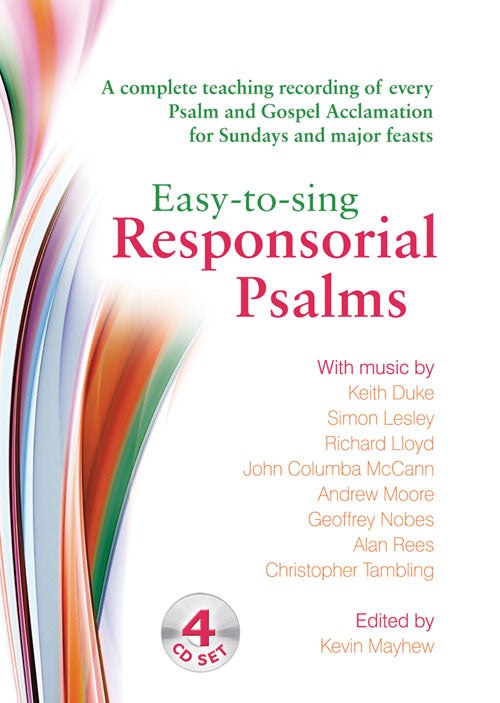 Easy To Sing Responsorial Psalms Cd SetEasy To Sing Responsorial Psalms Cd Set