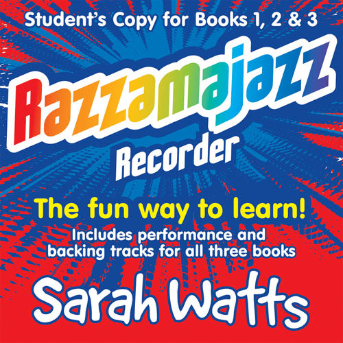 Razzamajazz Recorder (123) Cd For Students - Revised
