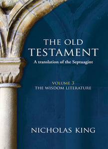 The Old Testament Vol. 3 - Wisdom BooksThe Old Testament Vol. 3 - Wisdom Books