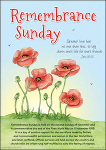 Poster - Remembrance Sunday A3Poster - Remembrance Sunday A3