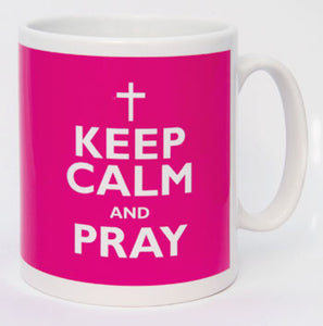Keep Calm And Pray MugKeep Calm And Pray Mug