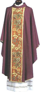 Chasuble with Collar - Decorative Panel Orphrey