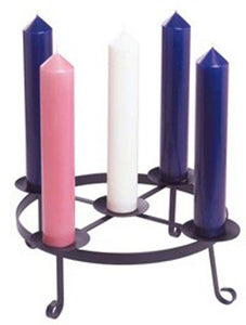 Advent Candles - Purple, Pink & WhiteAdvent Candles - Purple, Pink & White