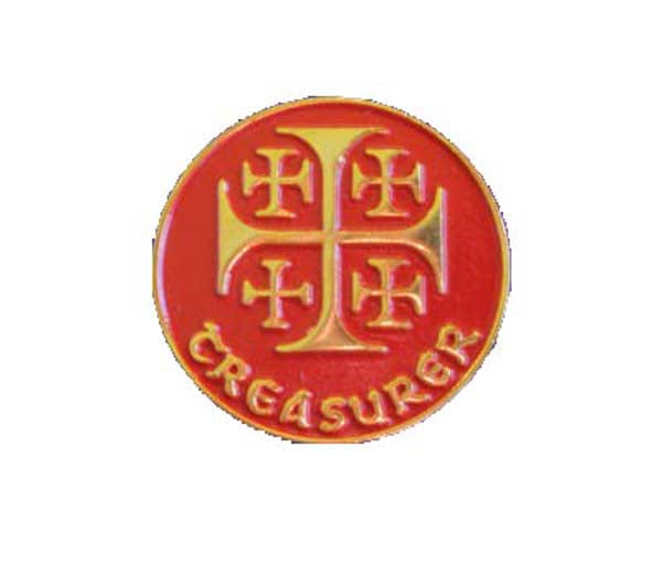 Treasurer - Lapel PinTreasurer - Lapel Pin