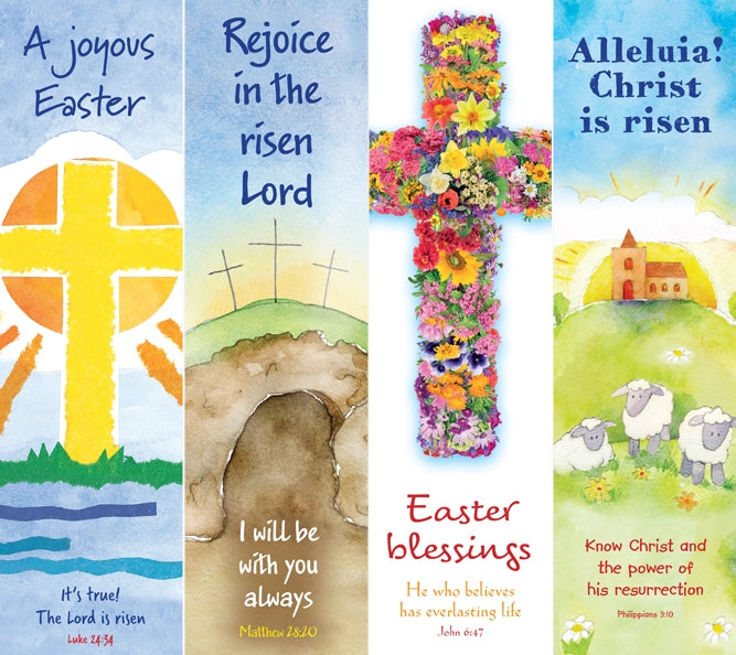 Bookmarks - Easter Pack C - Packs Of 40 (4 Designs)Bookmarks - Easter Pack C - Packs Of 40 (4 Designs)