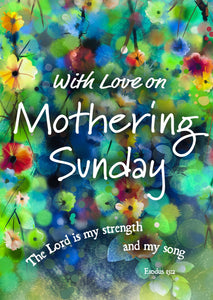 Mothering Sunday - Abstract Postcard 20 PkMothering Sunday - Abstract Postcard 20 Pk