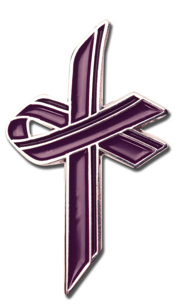 Awareness Cross Pin