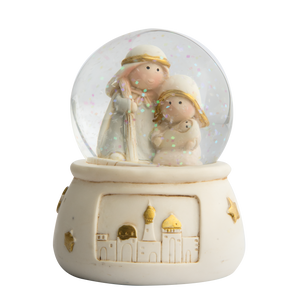 Nativity Scene Snow Globe - Mary & JosephNativity Scene Snow Globe - Mary & Joseph