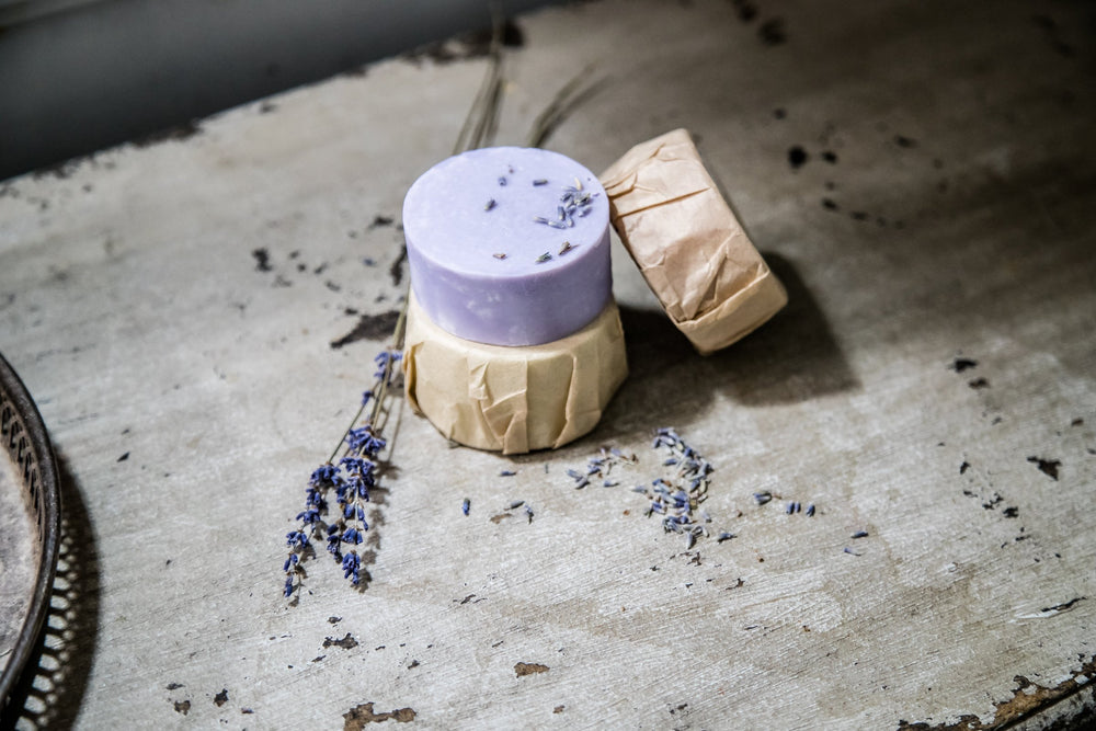 Load image into Gallery viewer, Hand Poured Lavender Soap