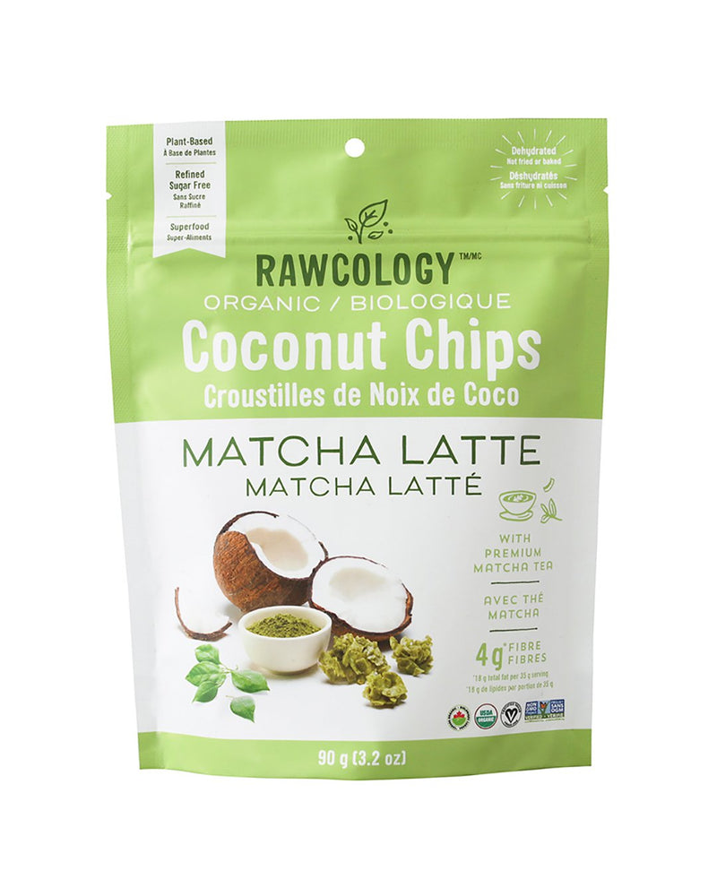 Matcha Latte Superfood Coconut Chips