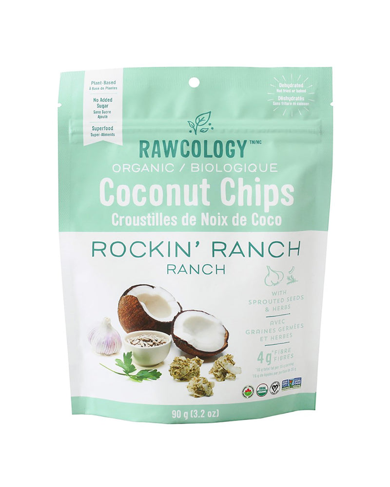 Rockin' Ranch Superfood Coconut Chips