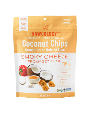 Load image into Gallery viewer, Smoky Cheeze Superfood Coconut Chips