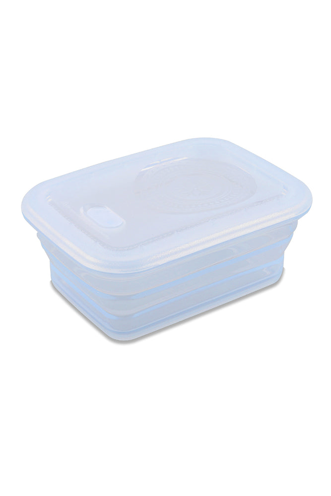 Minimal Silicone Storage Container Collapsible, 1160ml, Clear