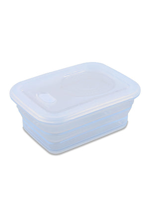 Load image into Gallery viewer, Minimal Silicone Storage Container Collapsible, 1160ml, Clear
