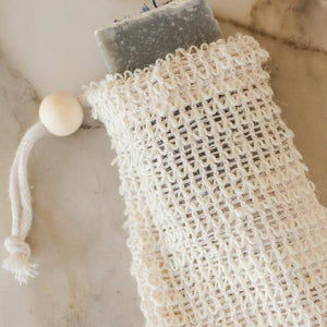 Load image into Gallery viewer, Agave Woven Soap Bag - Exfoliating Scrubber