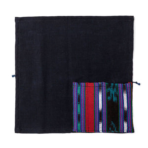 Load image into Gallery viewer, *ON SALE* Eco Travel Pouch/Napkin (Upcycled Mayan Fabric)