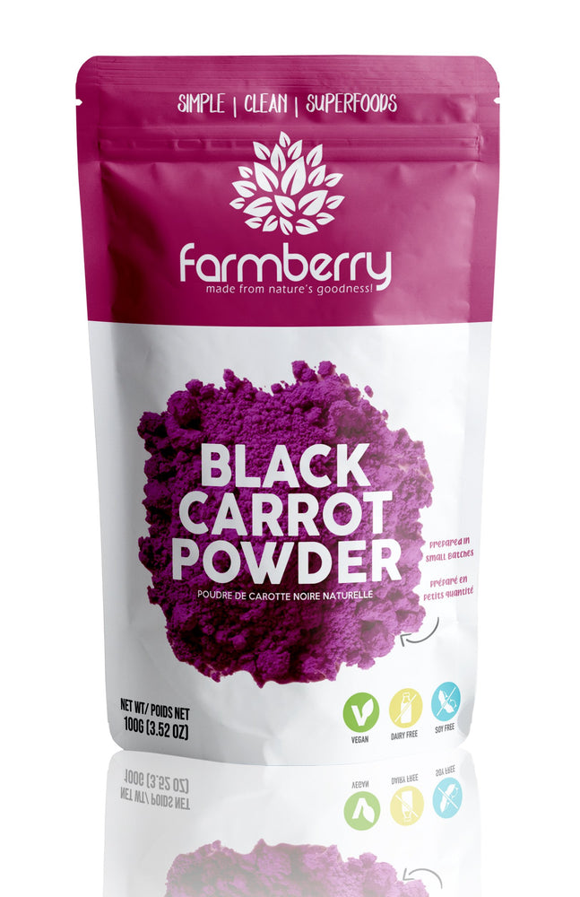 Farmberry 100% Natural Black Carrot Powder 100g