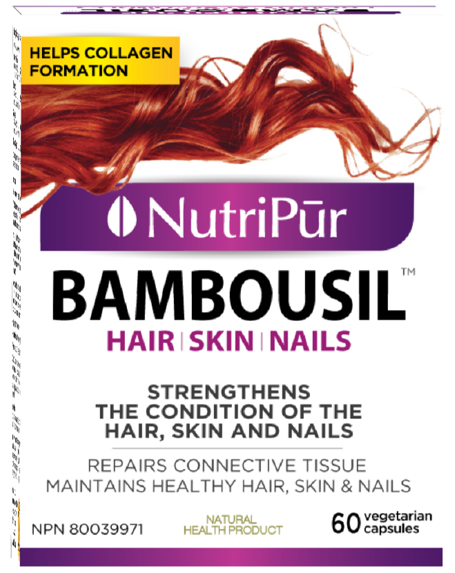 Nutripur Bambousil Hair Skin Nails-60 caps