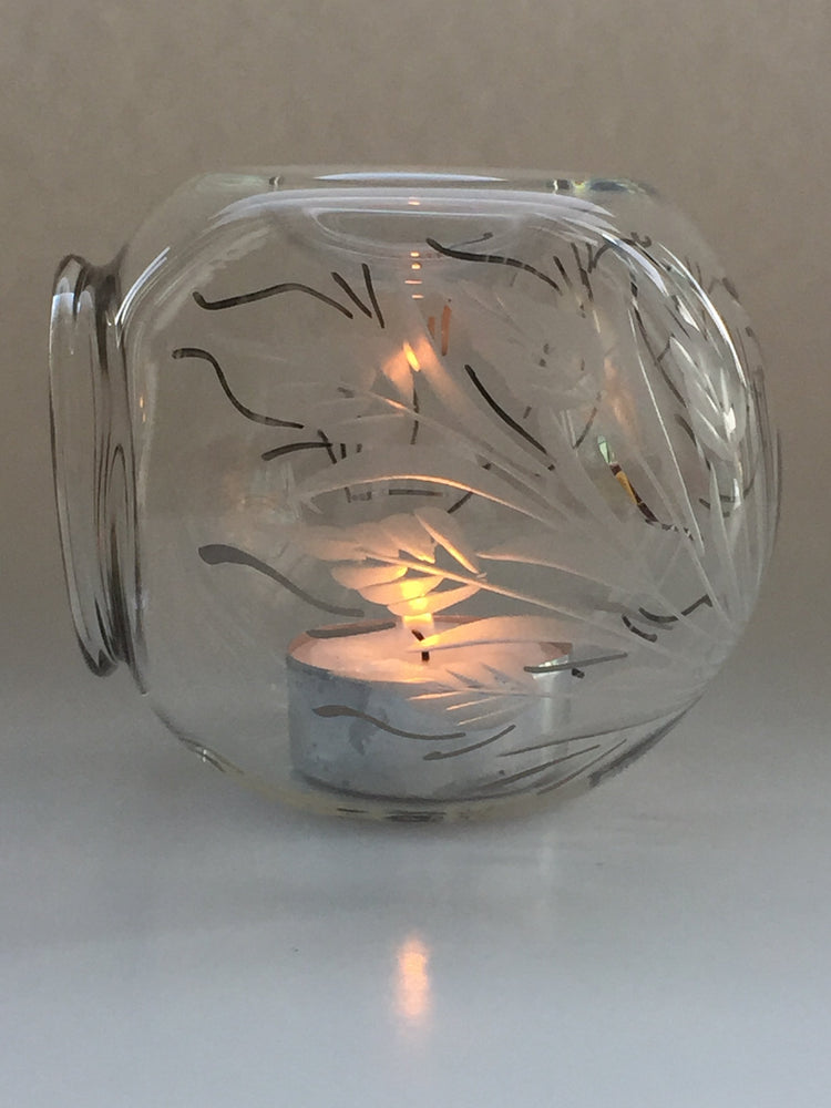 Blown Glass Oil Diffuser - Leaves