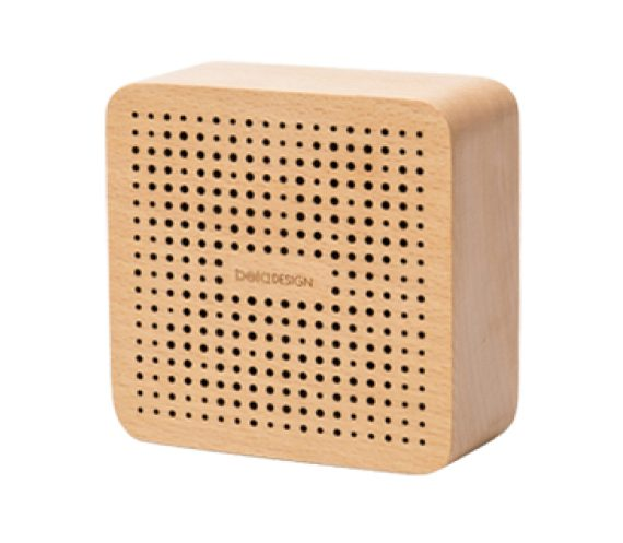 Load image into Gallery viewer, Square Wooden Bluetooth Speaker