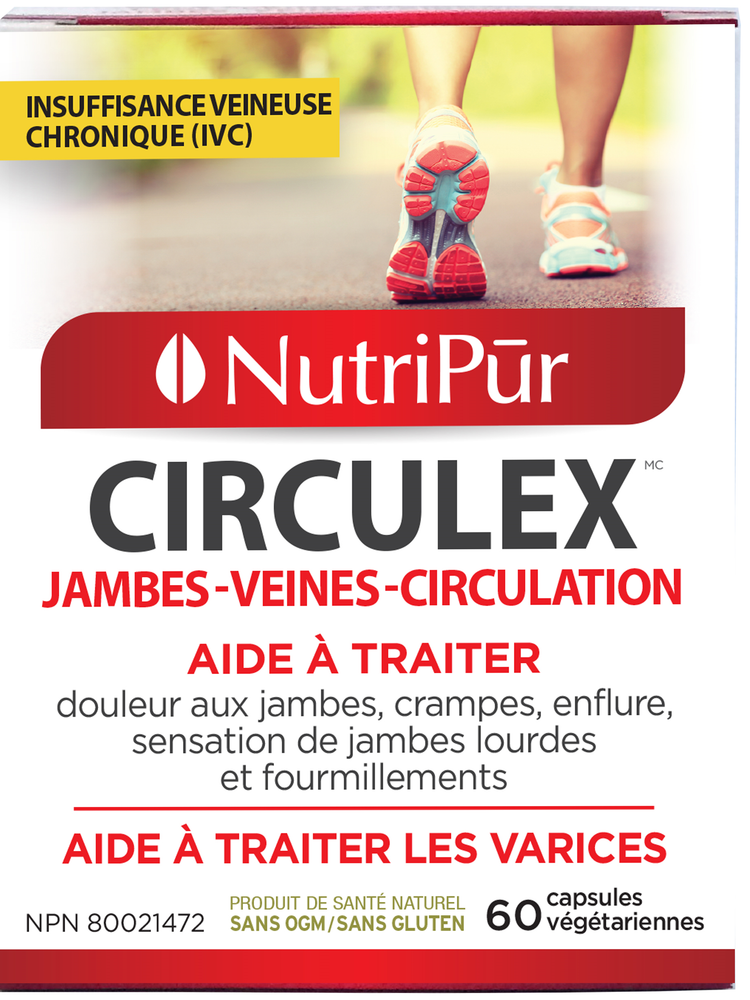 Load image into Gallery viewer, Nutripur Circulex-60 caps