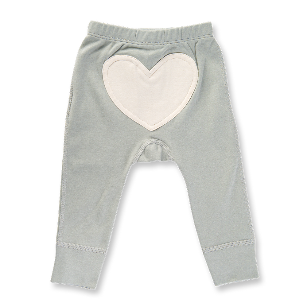 Load image into Gallery viewer, Dove Grey Heart Pants